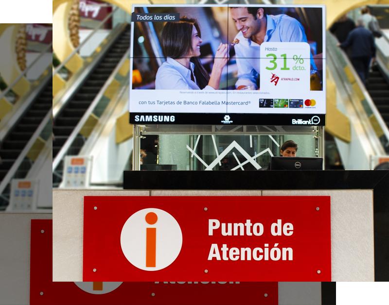 Unicentro digital signage